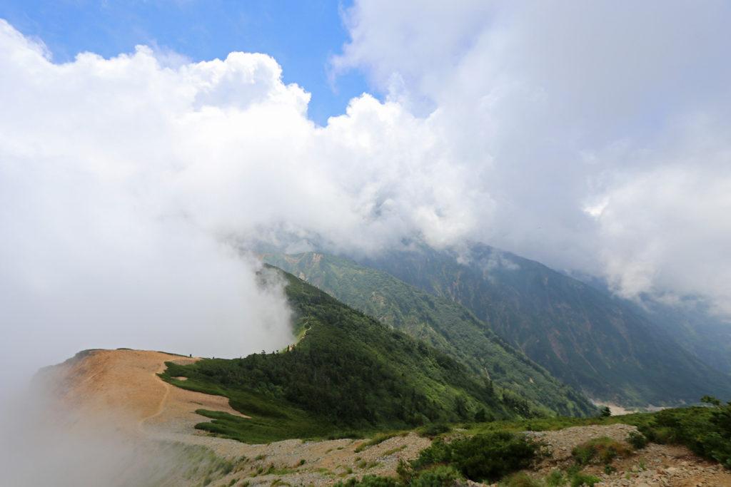唐松岳~五竜岳