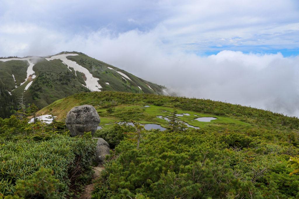 平ヶ岳~たまご石