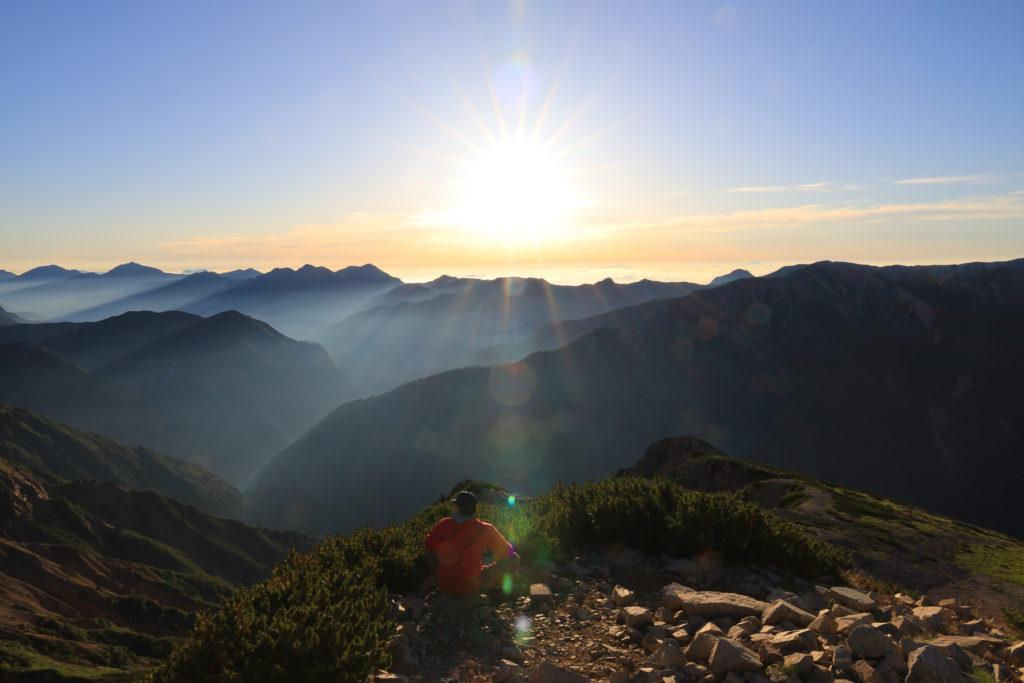 薬師岳山頂