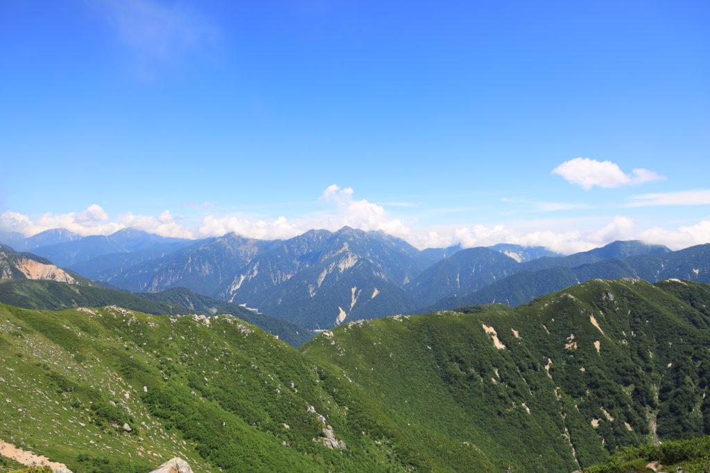 越中沢岳〜鳶山